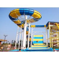 Quality Giant Boomerang Water Slide For Family / Outdoor Water Park Equipment wholesale