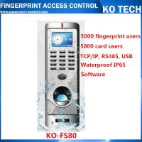 Quality KO-FS80 Metal Case Fingerprint Reader Standalone Entry Access Control wholesale