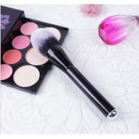 Quality Wood Handle Cosmetics Blush Brush Synthetic Hair Handle Material wholesale