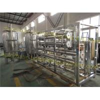 Quality Pure Drinking Water Purification Equipment 1600 2100KG Weight High Efficiency wholesale