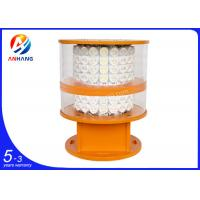 Cheap Dual Obstruction Light / Led flashing warning beacon lights for sale
