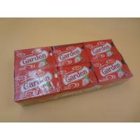 Cheap Fruit Assorted Chewing Gum Tablet Shape Strawberry Tasty Low Calorie Candy for sale