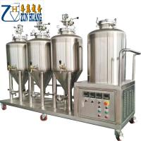 China 100 L 50 Gallon Micro Beer Brewery Equipment Conical Fermenter Tank Stainless Steel on sale