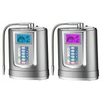 Quality High filtration Home Water Ionizer Machine Silver , 3 plates / 5 plates Water Alkaline Ionizer wholesale