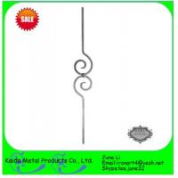 China stair handrail casting metal iron balusters on sale