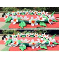Quality 10m Wedding Flower Chain, Decorative Inflatable Flower String for Party wholesale