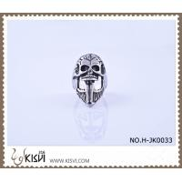 Quality Hot Selling 316l Stainless Steel Death's - Head Ring #10 / #8 H-JK0033 wholesale