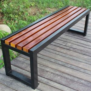 China antirust 3 Seat 1500mm Cast Iron And Wood Garden Bench on sale