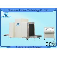 Quality X Ray Airport Baggage Scanner Local Network Supported With 34mm Steel Penetration wholesale