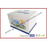 Quality Fashion Coated Paper Board Box, Rectangle Printed Rigid Gift Boxes For With Custom Logo wholesale