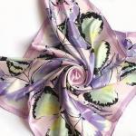 Quality Silk Scarve, Suitable for Ladies, Measures 90 x 90cm wholesale