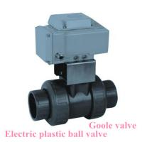 Quality Electric drive Socket welded plastic ball valve wholesale
