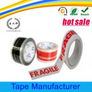 Quality Custom printing logo senior quality packing bopp tape wholesale