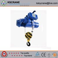Quality 5ton Wire Rope Double Electric Hoist With 110V With Double Trolley wholesale