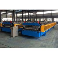 Buy cheap 5T Roof Panel Double Layer Roll Forming Machine 0.3-0.8mm 18 Stations product