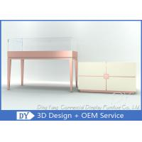 Quality Glass Jewellery Shop Display Counter / Jewelry Store Display Case wholesale