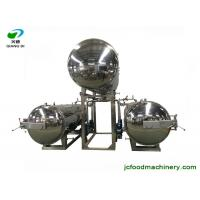 Quality industrial semi-automatic electric autoclave sterilizer machine for bottles/pouches/bags/canned food wholesale