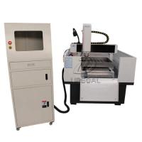 Cheap Heavy Duty Metal Mold CNC Engraving Cutting Machine NcStudio/DSP offline Control 600*600mm for sale