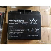 Quality Sealed Lead Acid Battery 12v 18ah Deep Cycle Battery For Solar UPS Inverter wholesale
