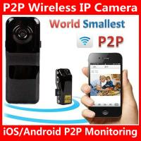 Buy cheap MD81S WiFi Camera iOS/Android Wireless IP P2P Surveillance Camera Spy Hidden TF DVR MD99S from wholesalers