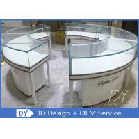 Cheap Glass Wooden Jewellery Display Counter / Jewellery Shop Fittings for sale