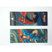 Quality Custom Plastic 3D Lenticular Bookmarks Printing With 3D Effect CMYK Printing wholesale