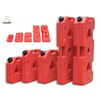 China Red Color Plastic Fuel Tanks For Cars , Anti Rust 3 Gallon Portable Fuel Tank on sale