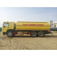 Quality Large Capacity Fuel Tank Semi Trailer With Twin Countershaft Structure wholesale