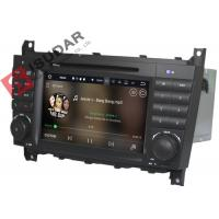 Cheap C Class W203 Mercedes Benz Car DVD Player Support Google Maps Online Navigating for sale
