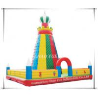 Quality Inflatable Rock Climbing with Slide Bouncer, Inflatable Big Bouncer (CY-M2056) wholesale