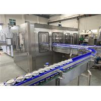 China 330ml Aluminum Can Carbonated Drink Filling Sealing Machine, Cola Can Filler.Energy Drink Canning Line on sale