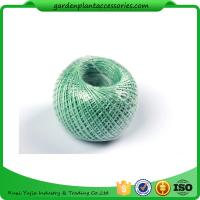 Quality 100M Length Twine Jute Garden Plant Ties , Blue Flexible Garden Tie wholesale