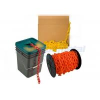 Quality Custom Traffic Use Coloured PE Plastic Coated Chain Link For Airport / Station wholesale