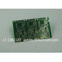 Quality 6 Layer Green Printed Circuit Board FR4 with V Groove White Silkscreen wholesale