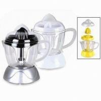 China 1L Squeeze Electric Fruit Juicer, Juice Extractor with Detachable transparent container on sale