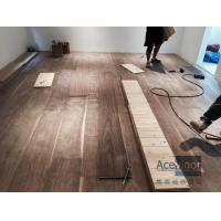 Quality Customized 20/6 x 300 x 2200mm AB grade American Walnut Flooring for Philippines Villa Project wholesale