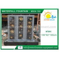 Quality Decorative Indoor Wall Cast Stone Garden Fountains High Grade Hand Carved wholesale