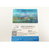 China Two Sides Personalised 3D Printed Products Lenticular Business Cards on sale