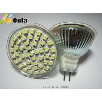 Quality Quartz Glass MR 16 SMD LED Spot Lamps 3w For Home With 180 LM, AC / DC 12 V wholesale