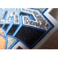 Quality Hotfix Custom Embroidered Patches Rhinestone Motif Iron On Transfer For Hoodies wholesale