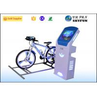 China 9D Virtual Reality Bike Trainer Sport Equipment Machine With Exciting 9D Track Games on sale