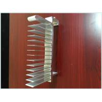 China 6063 T5/T6 Extruded Aluminum Profiles Heatsink For Water Cooler / Electronic Radiator on sale