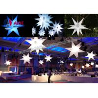 Quality Ceiling Inflatable Led Star Outdoor Party Use Color Changing LED Lights wholesale
