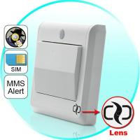 Quality HD Spy Camera Light Switch with GSM Remote Control (Motion Detection, GSM MMS Video Alarm) wholesale
