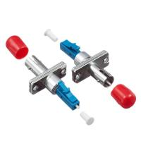 LC Male To ST/SC/FC Female Hybrid Fiber Optic Couplers Male To Female REACH SvHC Compliant