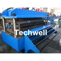 Quality Polyurethane Sandwich Panel Production Line For Color Steel With PLC Touch Screen Control wholesale