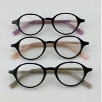 Quality Retro Acetate Round Eyeglasses Frames, Custom Handmade Acetate Optical Frames wholesale