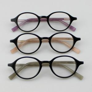 Quality Retro Acetate Round Eyeglasses Frames, Custom Handmade Acetate Optical Frames wholesale