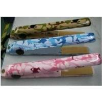 China DHL Free Shipping ceramic Camo Hair irons Saftery Plugs Green Blue Pink Color on sale