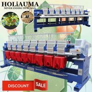 China HOLiAUMA high quality 1200 spm 8 heads computer cap t-shirt flat 3d logo embroidery machine for sale on sale
